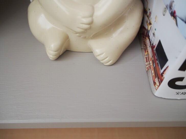 イケアのベッドサイドテーブルをプチリメイク