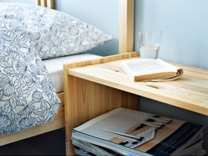 IKEA 「RAST ベッドサイドテーブル」