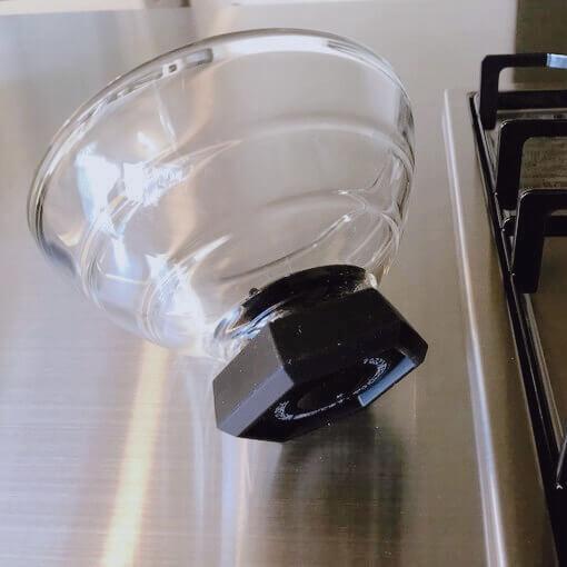 HARIO(ハリオ) フタ が ガラスのご飯釜 フタ