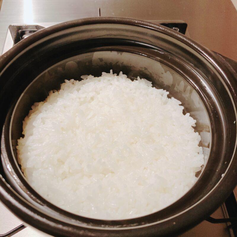 HARIO(ハリオ) フタ が ガラスのご飯釜 炊き方
